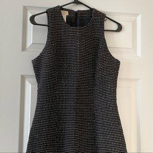Vertigo polka dot black white dress Sz 8 France